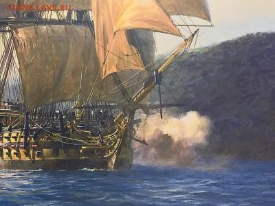 Монеты с Корабликами - Geoff-Hunt-H.M.S.-Agamemnon-2