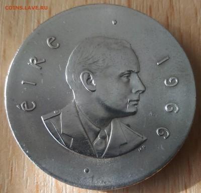 Ирландия 10 шиллингов - Ирландия 10 шиллингов 1966 пасхальное восстане аверс