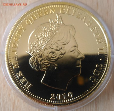 Тристан да Кунья 5 фунтов 70лет битва за Британию 2010 - Тристан де Куния 5 фунтов 2010 битва за британию 70 лет аверс