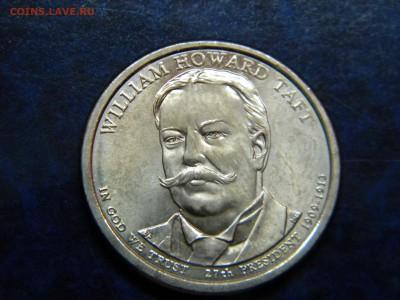 """1 доллар 27 президент """"Вильям Таф""""тдо 16.01.19 - DSCN5315.JPG"""