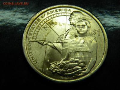 1 доллар США Сакагавея-Индианка 2014 г. до 16.01.19г - DSCN5326.JPG