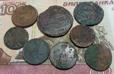 8 монет Росс.Империи 1735-1860 до 14.01.2019 22:00 мск - 20190110_224523