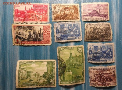 марки 1940-1950 г.г СССР - DSC09847.JPG