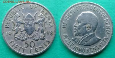 Кения - 50 центов 1978 года до 18.01 - кения 50 центов 1978 года