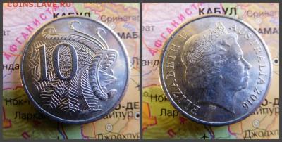Австралия 10 центов, 2016 - 8