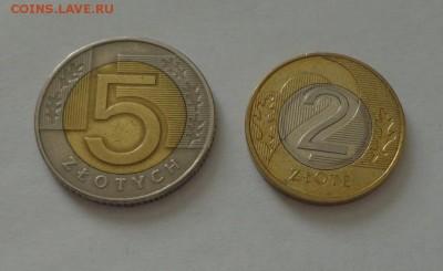 ПОЛЬША - 2 и 5 злотых (2 БИМа) до 3.02, 22.00 - Польша 2 и 5 зл. БИМ