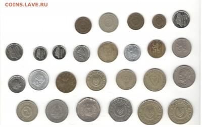 Иностранные монеты, 200 штук, 50 стран - ФИКС цены - Подборка иностранных, скан Д, сторона 2