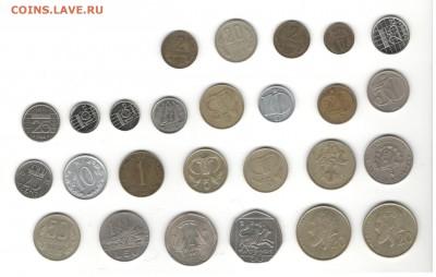 Иностранные монеты, 200 штук, 50 стран - ФИКС цены - Подборка иностранных, скан Д, сторона 1