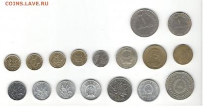 Иностранные монеты, 200 штук, 50 стран - ФИКС цены - Подборка иностранных, скан Г, сторона 2
