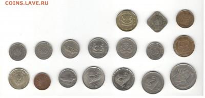 Иностранные монеты, 200 штук, 50 стран - ФИКС цены - Подборка иностранных, скан В, сторона 2