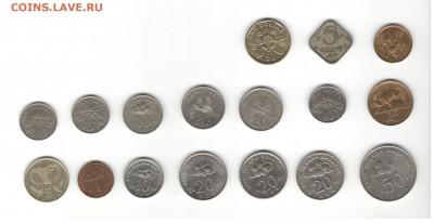 Иностранные монеты, 200 штук, 50 стран - ФИКС цены - Подборка иностранных, скан В, сторона 1