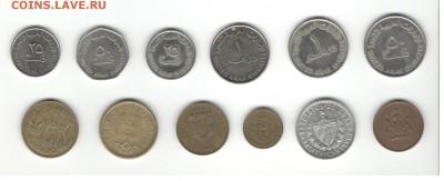 Иностранные монеты, 200 штук, 50 стран - ФИКС цены - Подборка иностранных, скан А, сторона 1