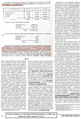 Публикации, посвящённые золотым монетам Николая II - 11