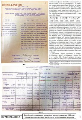 Публикации, посвящённые золотым монетам Николая II - 6