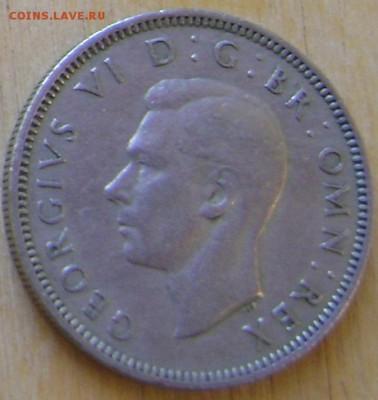 Великобритания 1 шиллинг 1949 до 6.02.2019 в 21.00 - Великобритания 6а