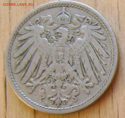 Германия 10 пфеннигов 1900 до 6.02.2019 в 21.00 - Германия 1а