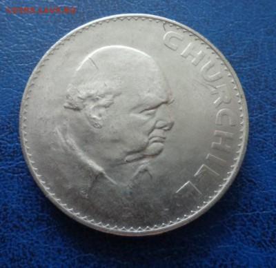 Великобритания 1 крона(Черчиль)  1965 до 10.02. 19 - DSC00435.JPG