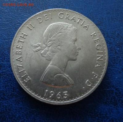 Великобритания 1 крона(Черчиль)  1965 до 10.02. 19 - DSC00436.JPG