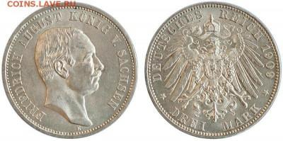 Саксония 3 марки 1909 - saksonija_3_marki_1909_god_unc_8