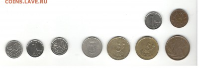 Монеты Бельгии. Фикс цены. - Бельгия 2