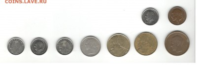 Монеты Бельгии. Фикс цены. - Бельгия 1