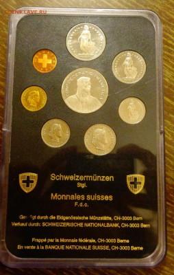 ШВЕЙЦАРИЯ - оф. годовой набор в блистере до 24.02, 22.00 - Швейцария набор ходячка 1990