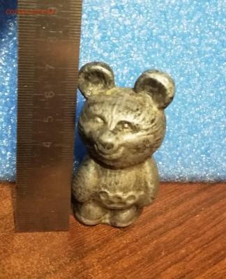 обменяю Олимпийского Мишку- Олимпиада 80 - статуэтка олимп.мишка.2