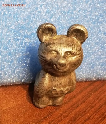 обменяю Олимпийского Мишку- Олимпиада 80 - статуэтка олимп.мишка.1