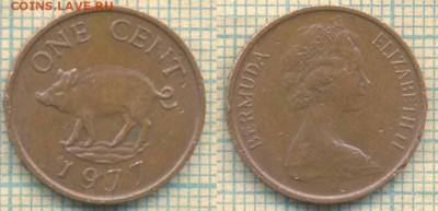 Бермуды 1 цент 1977 г., до 27.02.2019 г. 22.00 по Москве - Бермуды 1 цент 1977  5329