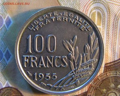ФРАНЦИЯ 100 франков 1955 г    до 01.03.    22 ч - IMG_4242.JPG