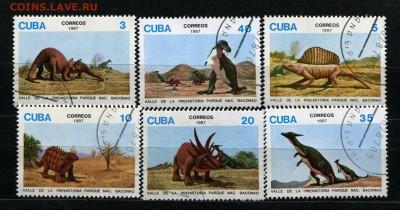 Куба Динозавры 1987  30 руб. - 51