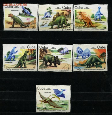 Куба Динозавры 1985  50 руб. - 52