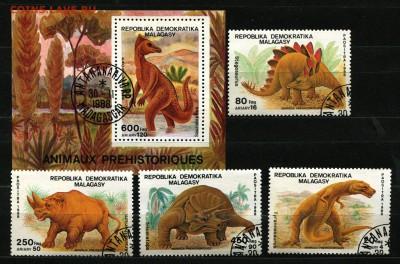 Мадагаскар Динозавры 1988  65 руб. - 59