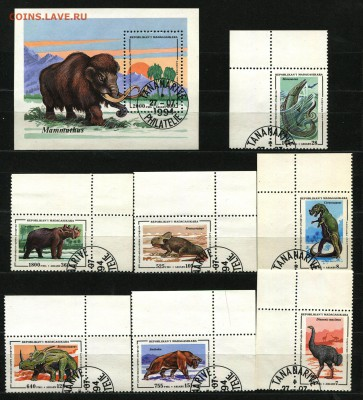 Мадагаскар Динозавры 1994  125 руб. - 61