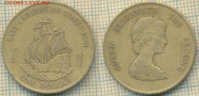 Восточные Карибы 1 доллар 1981 г., до  28.02.2019 г. 22.00 п - Вост Карибы  1 доллар 1981  5342