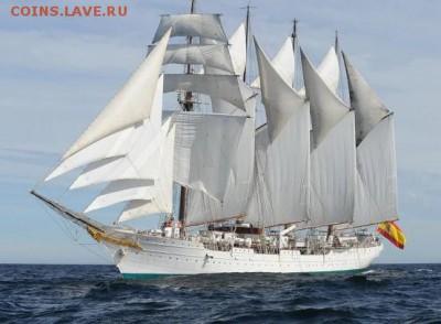 Монеты с Корабликами - juan-sebastian-elcano-ship