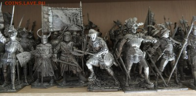 оловянные солдатики, Рыцари, Средние века, EK Castings - IMG_20190225_084340[1]