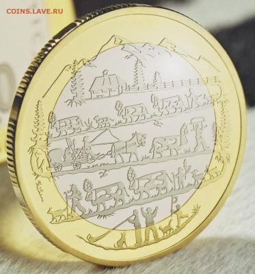 Кошки на монетах - Швейцария-2