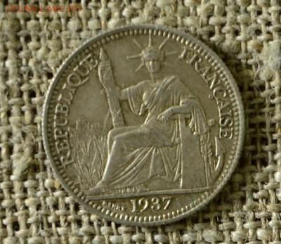 10 сантимов 1937 Фр. Индокитай Ag до 06.03 в 21-00 мск - 10сантимов2