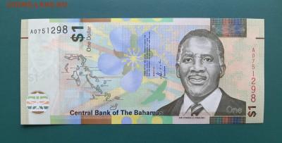 БАГАМЫ 1 доллар 2017г., ДО 06.03. - Багамы 50 центов 2017г., А.