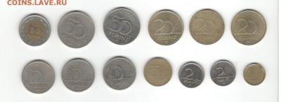 Монеты Венгрии 1990 - настоящее время. Фикс цены. - Монеты Венгрии с 1990 А