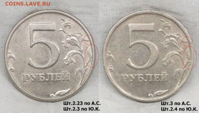 Методика определения от Валерия Каминского - 5 рублей 2008-1998 спмд