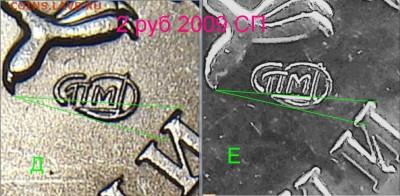 Методика определения от Валерия Каминского - 2 рубля 2009 магнитная спмд новый разновид