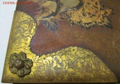 Альбомные крышки старинные кожа тиснение медь до 10.03.19 - Изображение 059