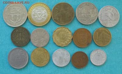 Иносранные монеты 15 шт до 14.03.19г. 22.00ч. - наб2