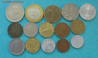 Иносранные монеты 15 шт до 14.03.19г. 22.00ч. - наб1
