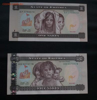 Эритрея 1 и 5 накфа 1997 UNC Фикс Сообщение - IMG_20180909_230130