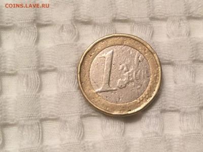 1 евро Испания 2003. Фальшивка или «морская болезнь» ? - 574DA8C9-1B51-46AA-9BD6-366C94105431