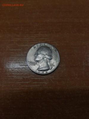 Quarter dollar 1982г. D - IMG-20190312-WA0024