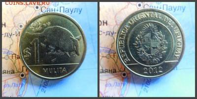 Уругвай 1 песо, 2012 - 11